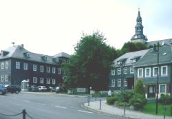 Marktplatz von Oberweißbach